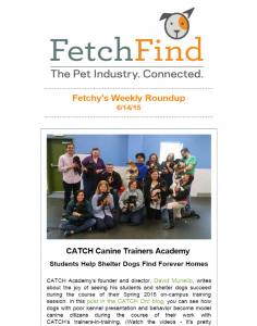 FetchFind Newsletter - June 2015