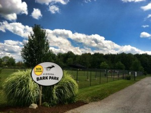 Enjoy a beautiful day at Pierson Bark Park in Fishers, IN Photo source: www.bringfido.com